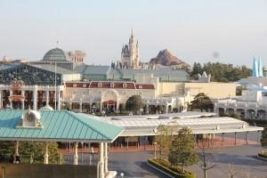 ディズニーホテルからの景色